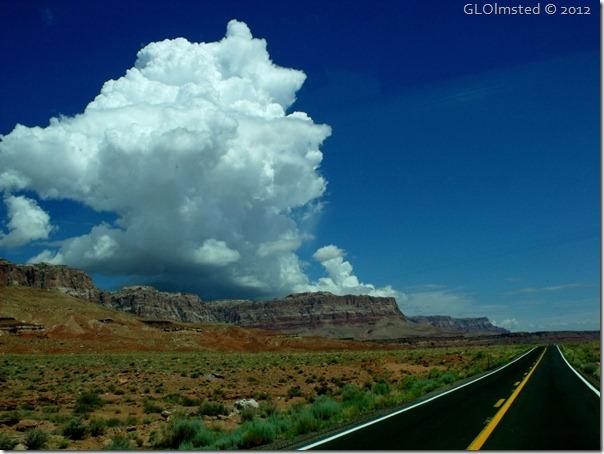 04 Cumulus over Vermilion Cliffs SR89A E AZ (1024x768)