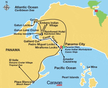 How To Get From Panama City To Cristobol Island