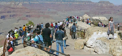 crowded overlook NPS photo