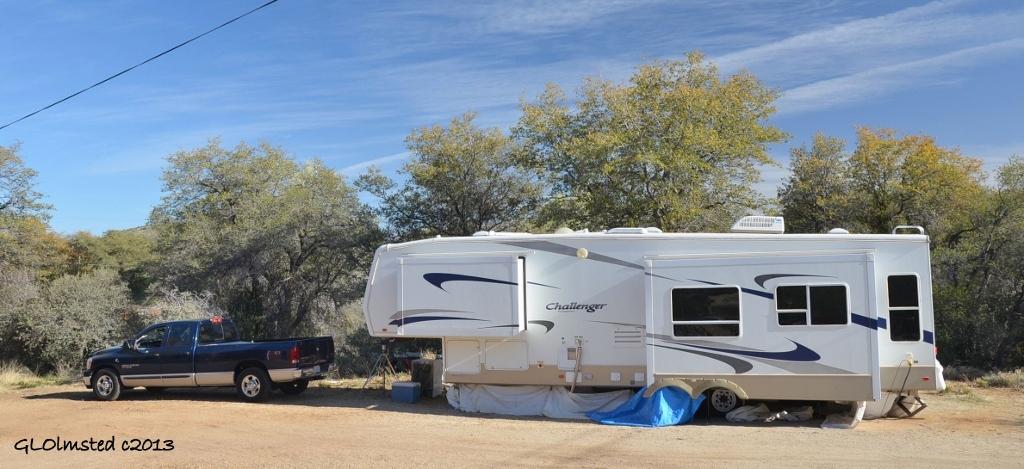 New truck & 5er Yarnell AZ