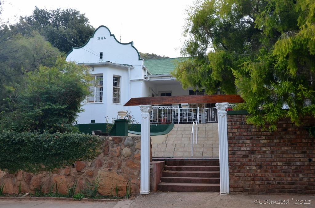 Main house at Old Mill Lodge Oudtshoorn SA