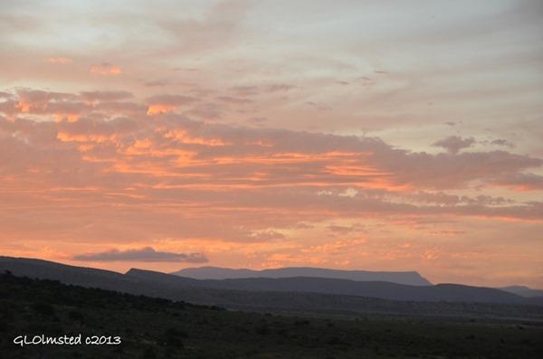 Sunset Camdeboo National Park Eastern Cape Graaff-Reinet Sout Africa