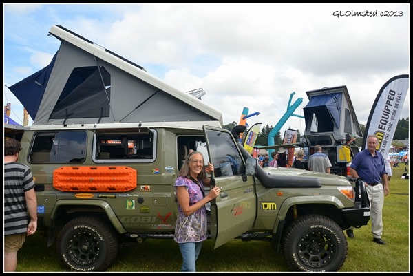 Gaelyn by Toyota Landcruiser Getaway Show Somerset West South Africa