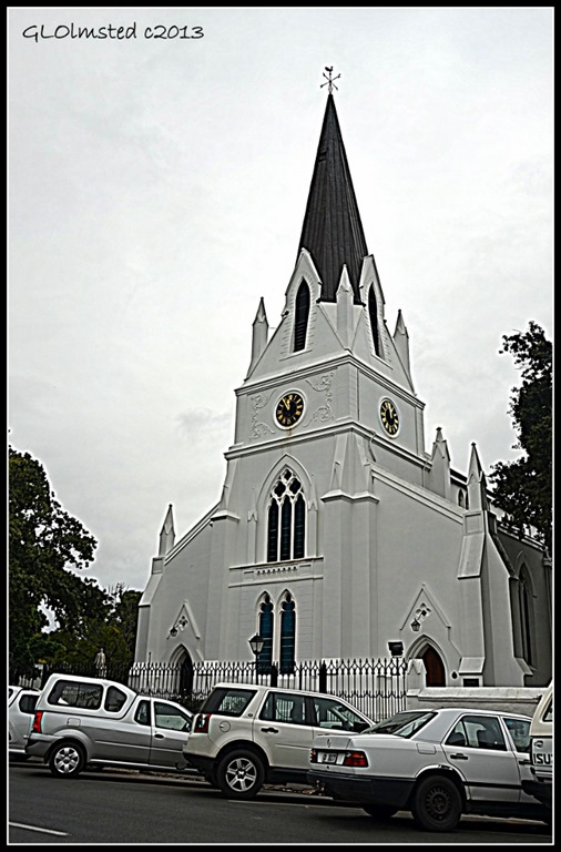 Moederkerk church Stellenbosch South Africa