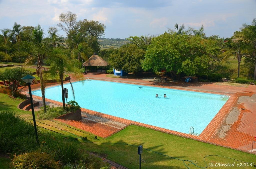 Hot water pool Forever Resort Badplaas South Africa