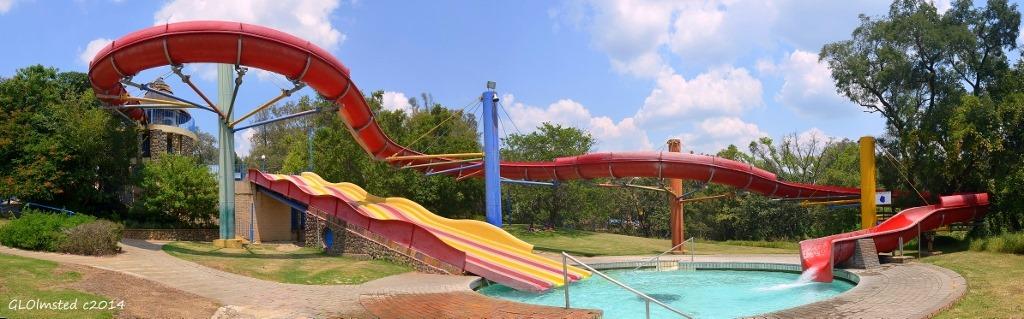 Warm water slides Forever Resort Badplaas South Africa