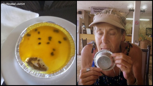 Granadilla cheese cake & Gaelyn Forever Resort Badplaas SA
