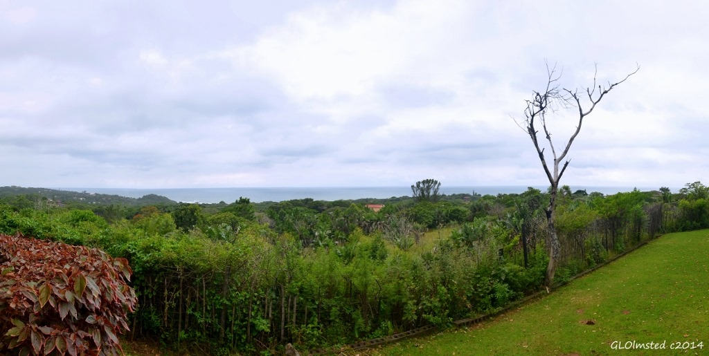 The Indian Ocean from Leisure View Camp Port Edward South Africa