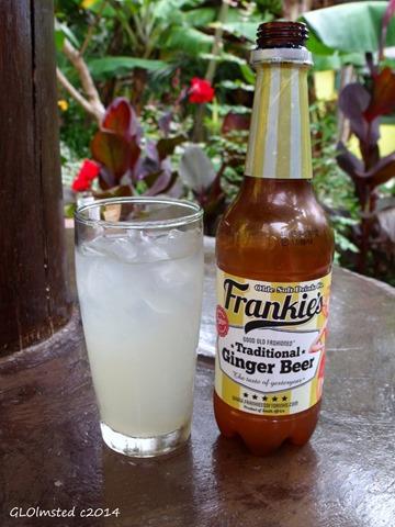 Frankie's Ginger Beer Mac Banana Port Edward South Africa