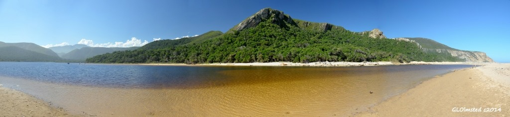 Lagoon Tsitsikamma NP Natures Valley South Africa