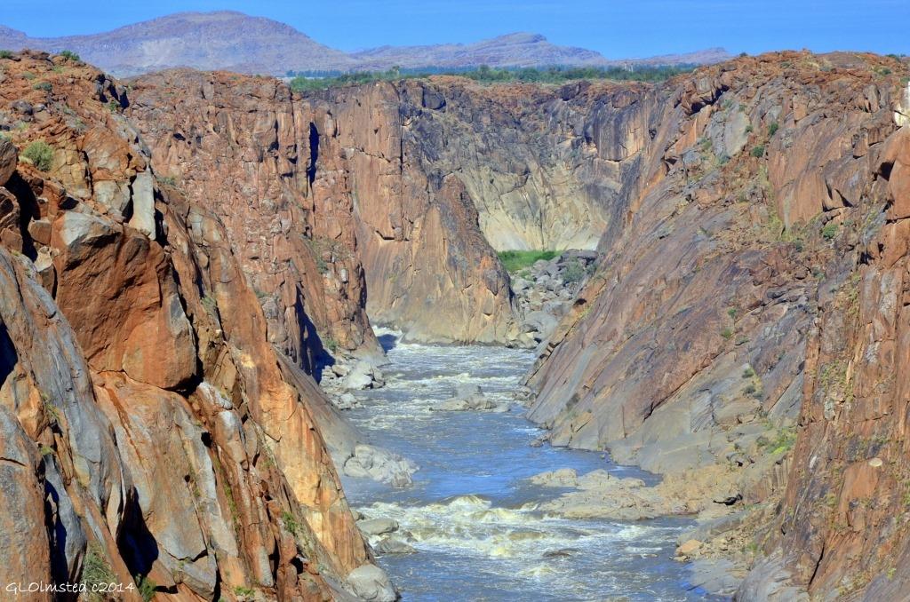 augrabies falls national park karte
