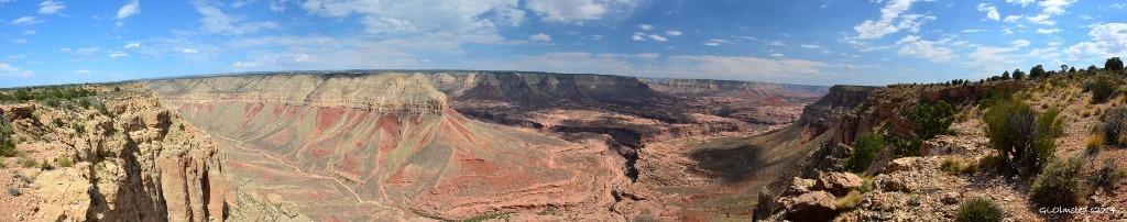 Jumpup canyon, point & beyond Grand Canyon Arizona