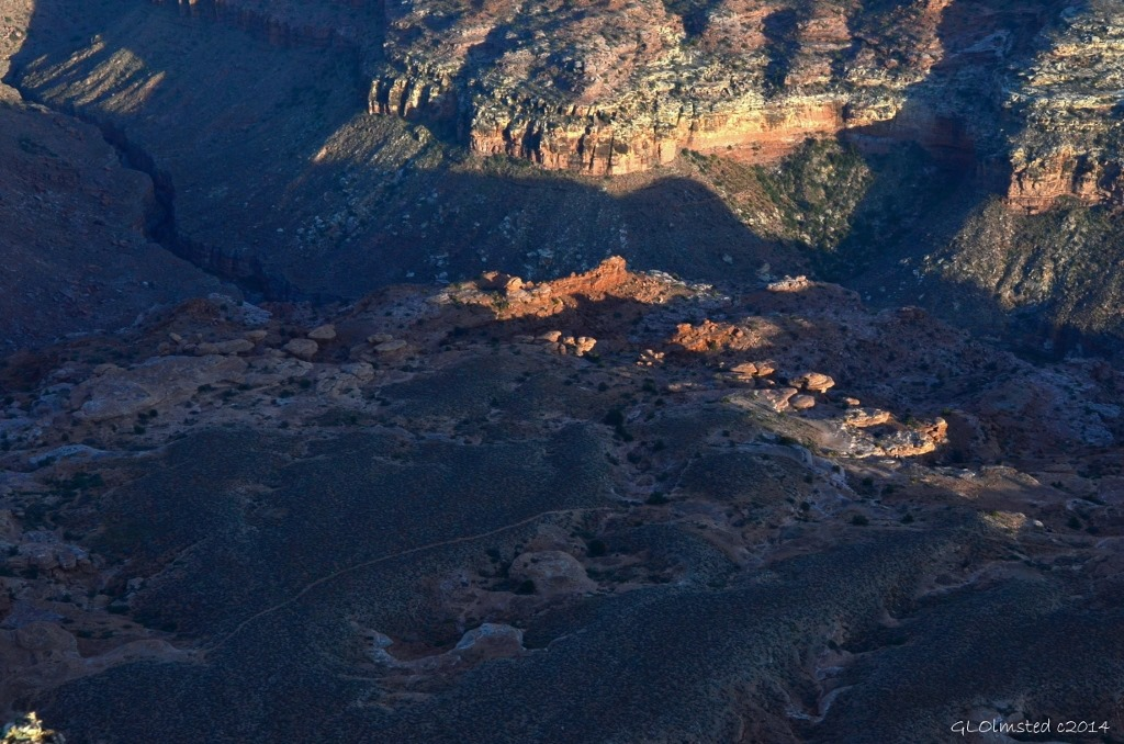 Jumpup trail Grand Canyon Arizona