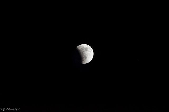 Lunar eclipse Yarnell Arizona