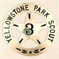Yellowstone Park Scouts badge