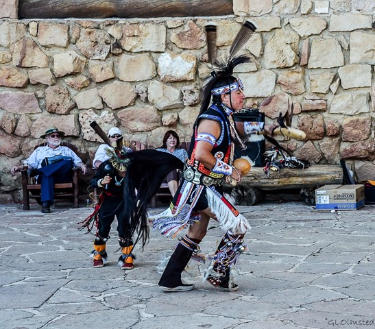 Derek Hopi Dancer Heritage Days North Rim Grand Canyon National Park Arizona