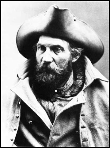 Harry S Yount 1873 game keeper Yellowstone National Park