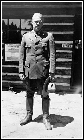 Pres. Ford 1936 Park Ranger at Yellowstone