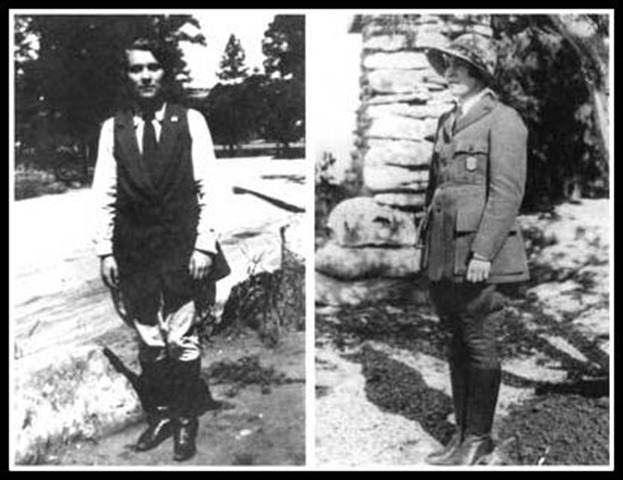 Pauline Mead ranger-naturalist Grand Canyon National Park 1929-1931