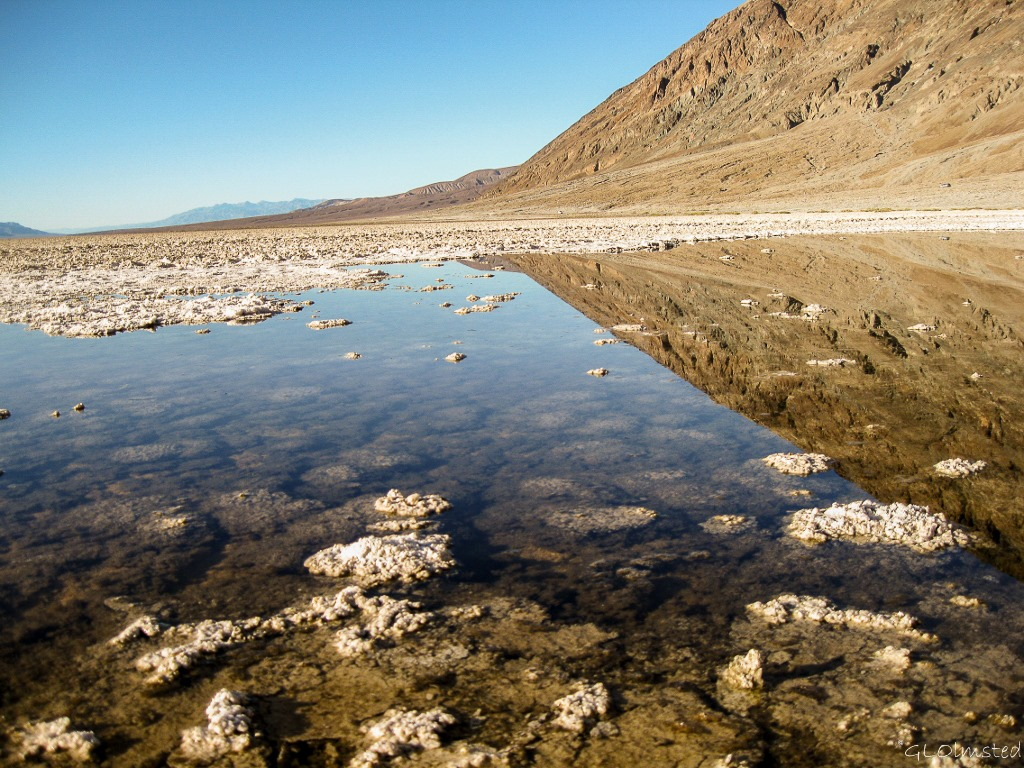 Badwater Pool Badwater Basin Death Valley National Park California