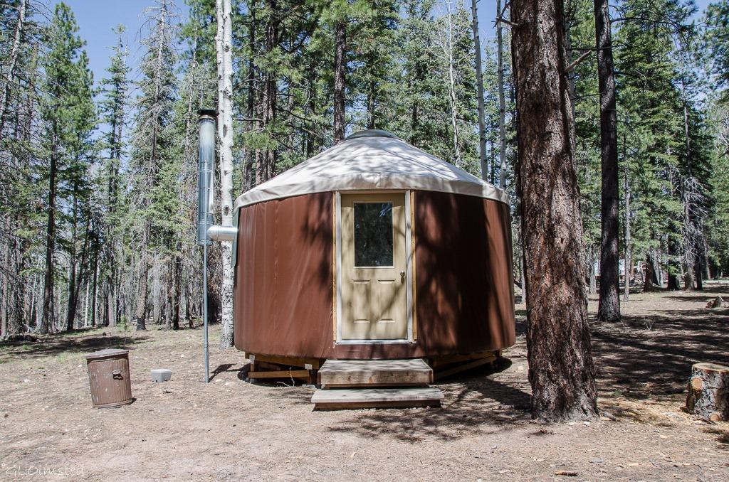 Yurt on North Rim Grand Canyon National Park Arizona