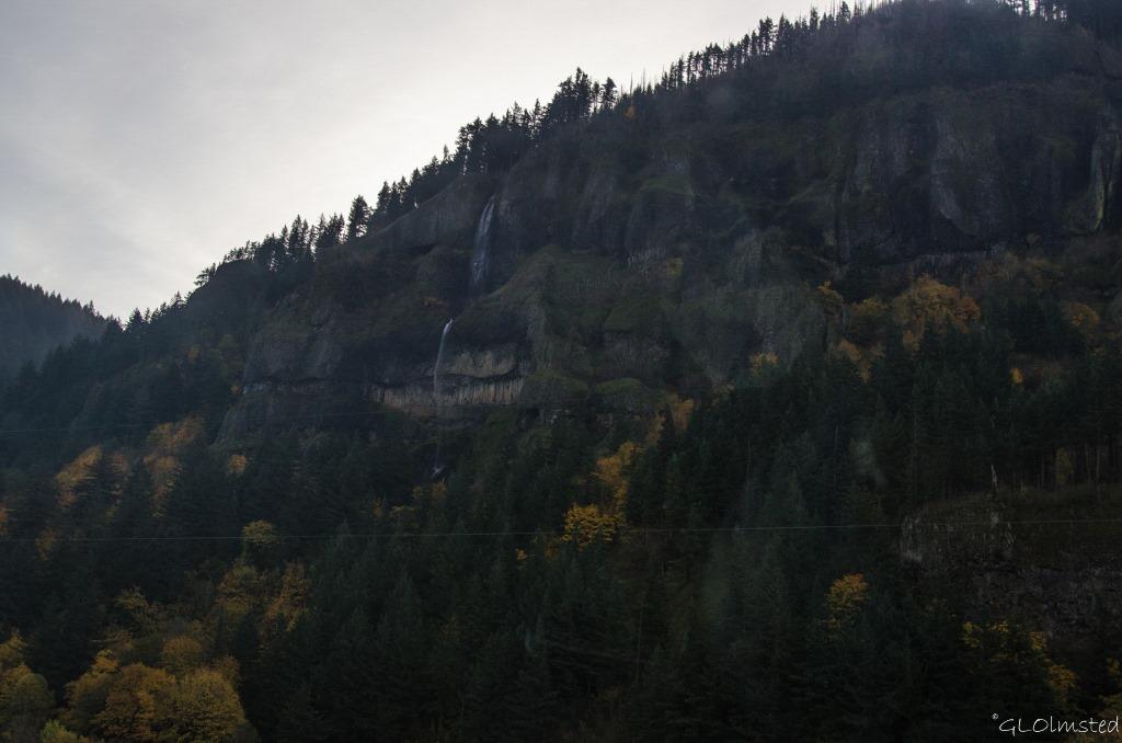 Waterfall Columbia River Gorge I84 Oregon