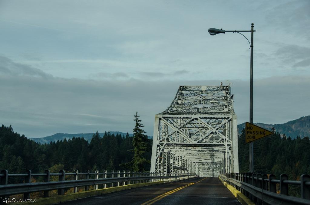Bridge of the Gods Columbia River Gorge Cascade Locks Oregon