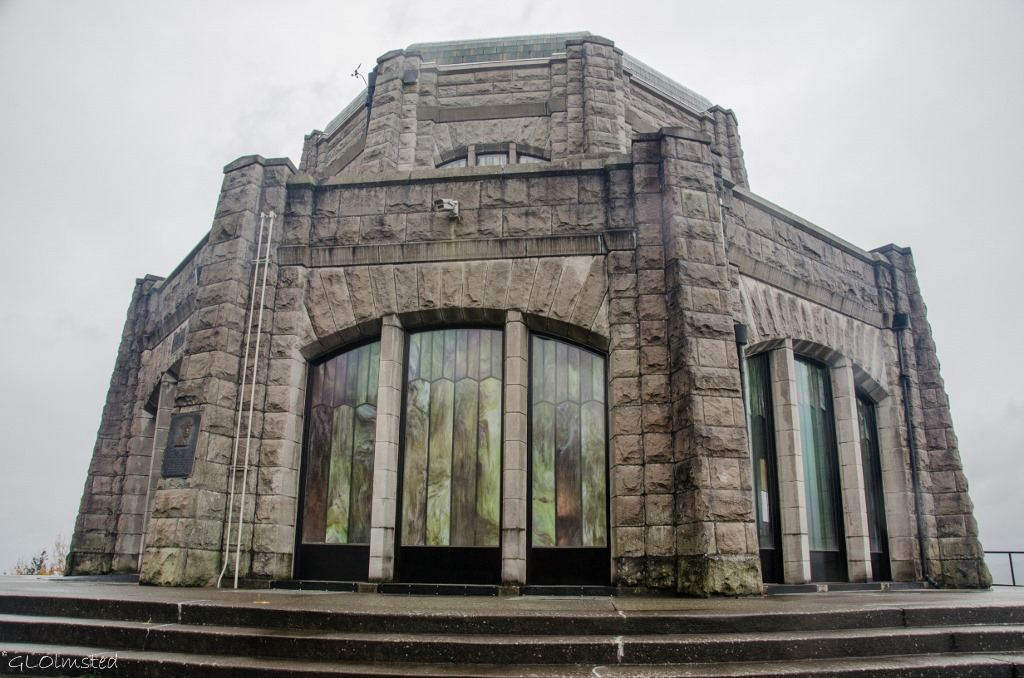 Vista House Historic Columbia River Highway Crown Point Oregon