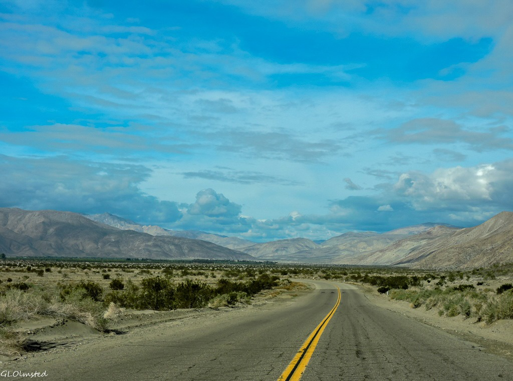 Borrego Springs (CA) United States  city pictures gallery : Henderson Canyon Road Borrego Springs California