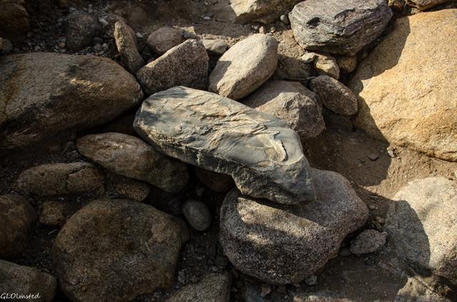 Rocky steps Palm Canyon trail Anza-Borrego Desert State Park California