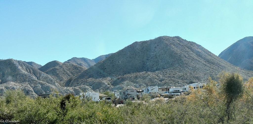 Agua Caliente County Park Anza-Borrego Desert State Park California