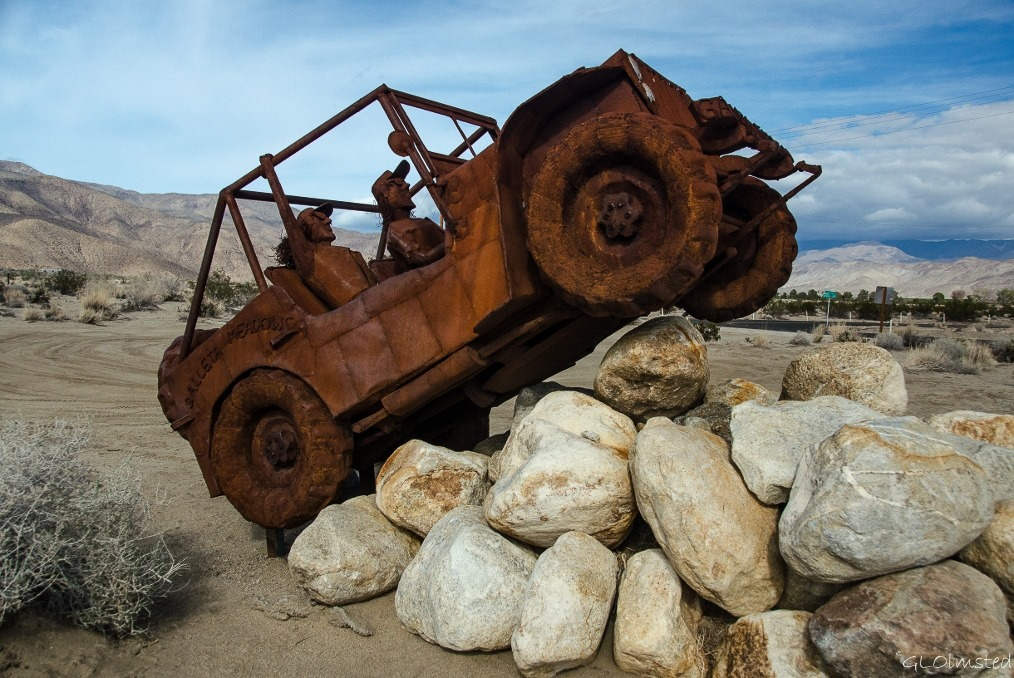 Jeep Willys 2015 >> Sculptures at Galleta Meadows - Geogypsy