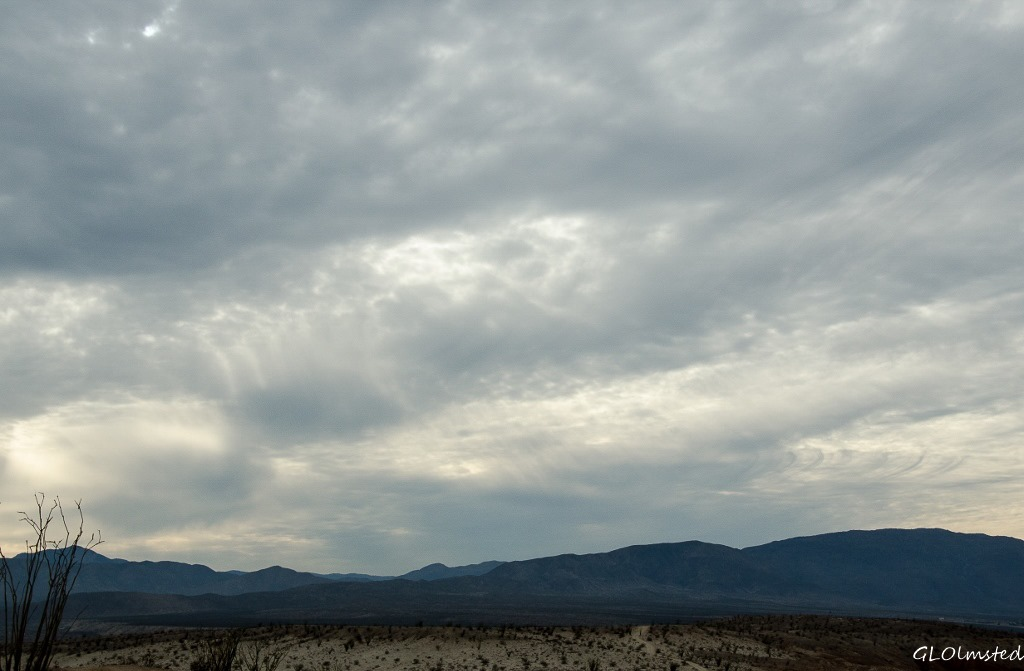 Presunset Anza-Borrego Desert State Park California