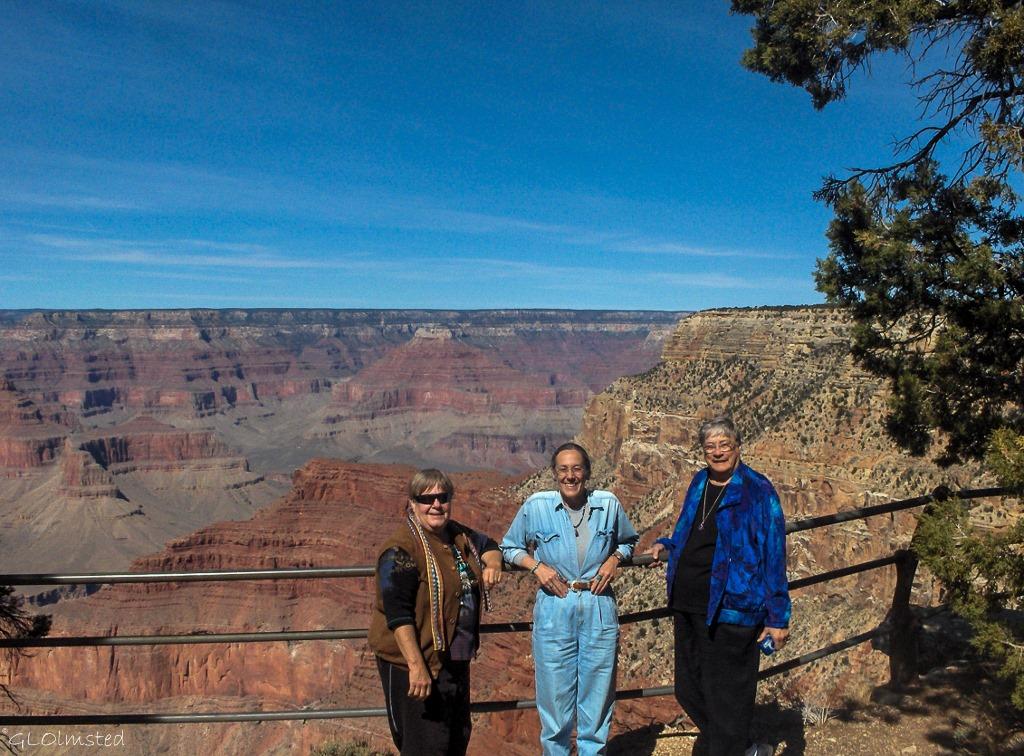 Berta, Gaelyn & Darlene South Rim Grand Canyon National Park Arizona