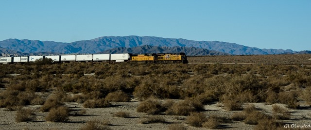 Train Corvina Beach Salton Sea SRA California