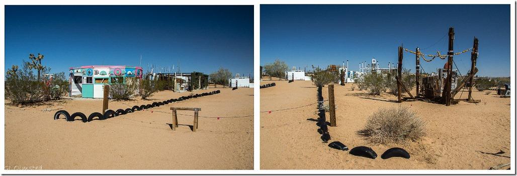 Carousel & Shipwrecked Noah Purifoy's Desert Art Museum Joshua Tree California
