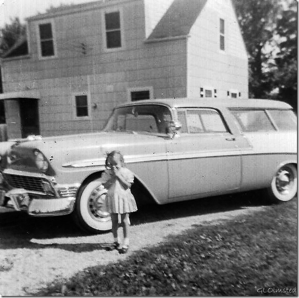 Gail Sept 1956 Spring Rd Hinsdale Illinois