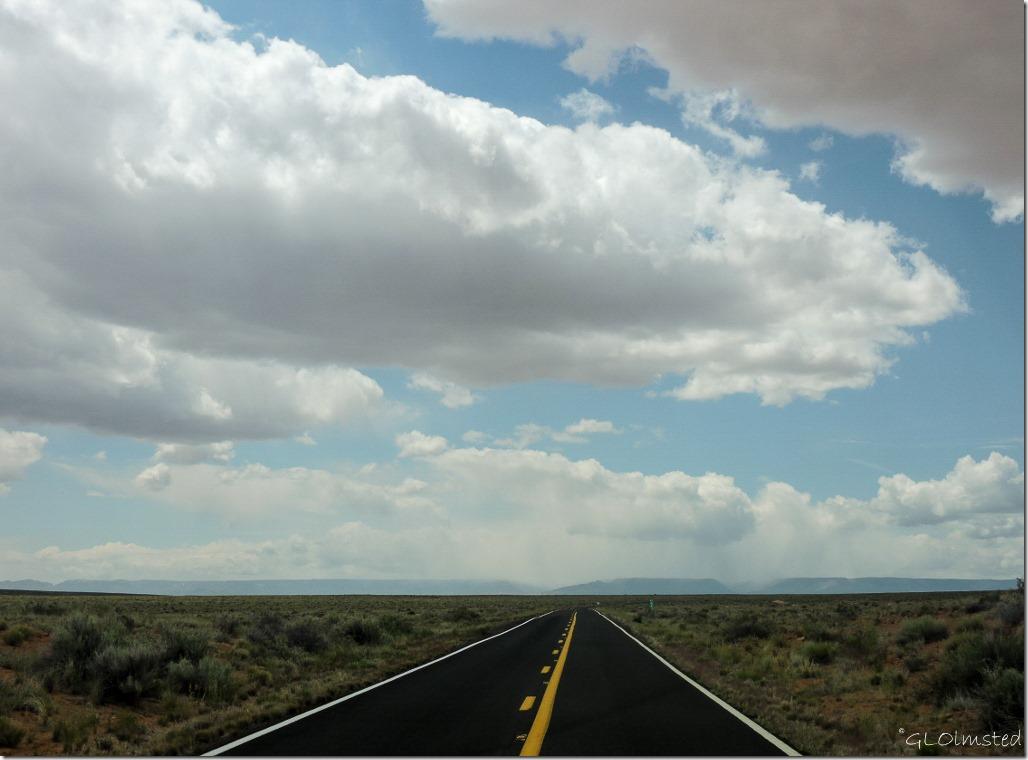 Storm clouds over Kaibab Plateau Arizona