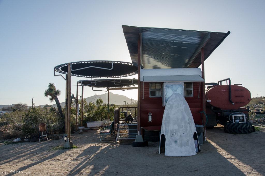 1958 Rocket trailer Buzzards Roost Joshua Tree California