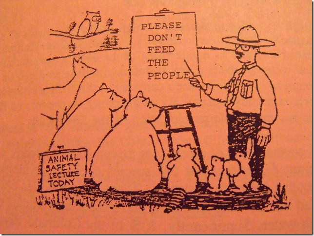 07 126 Cartoon Ranger telling animals not to feed the people g (1024x768)