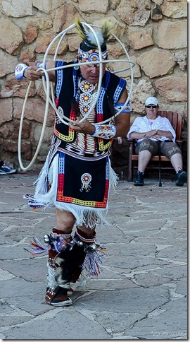 Derek Suwaima-Davis Hoop Dance Heritage Days North Rim Grand Canyon National Park Arizona
