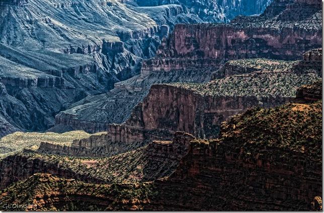 Bright Angel Canyon from Lodge North Rim Grand Canyon National Park Arizona