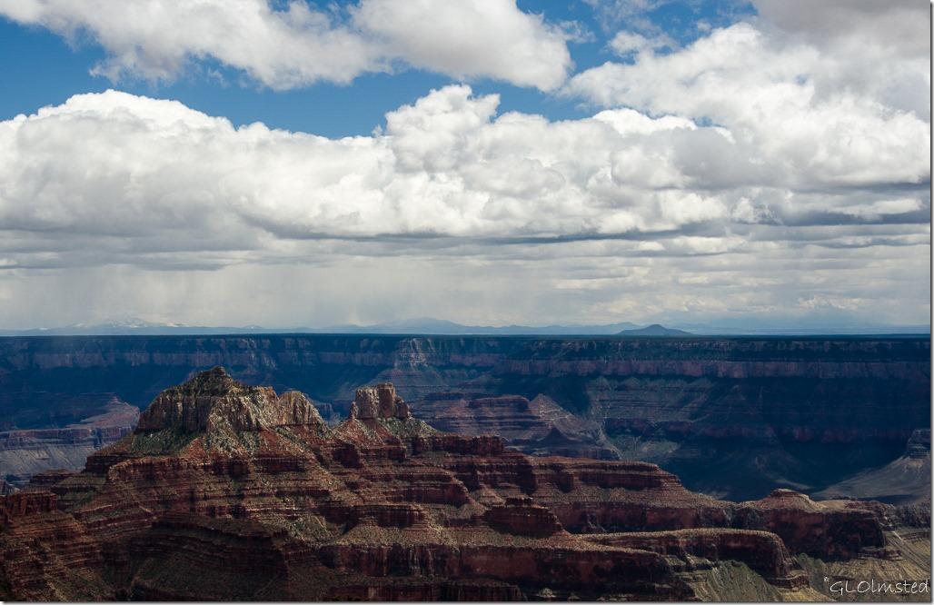 Canyon from Lodge North Rim Grand Canyon National Park Arizona