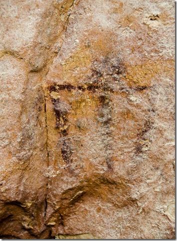 Pictograph FR423 Kaibab National Forest Arizona