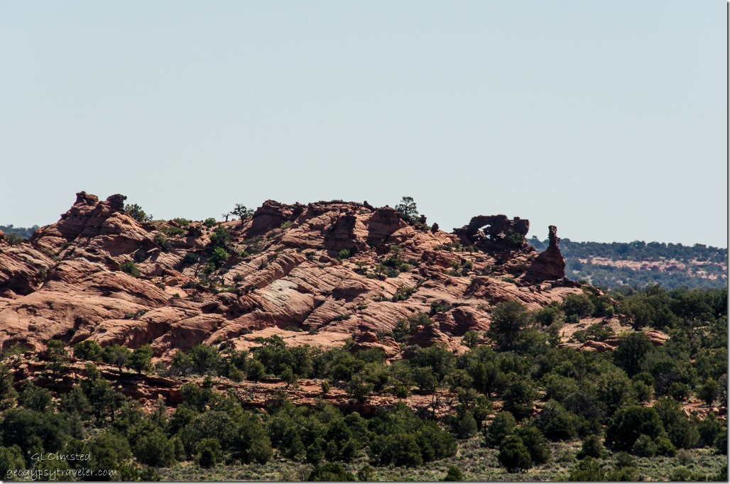 Rock Arch along House Rock Valley Road Vermilion Cliffs National Monument Arizona