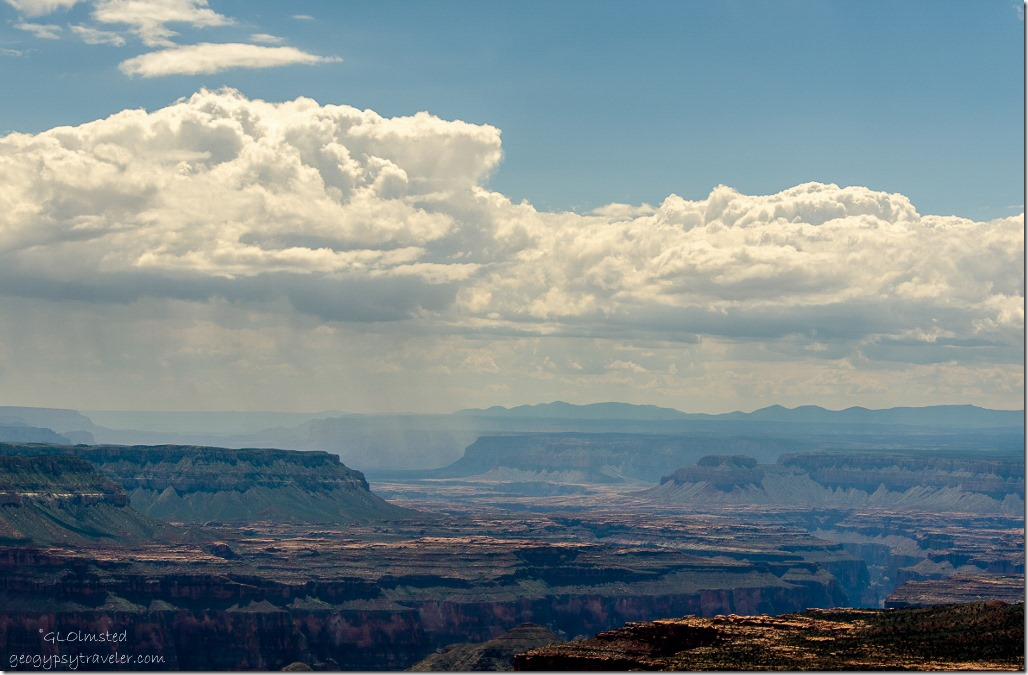 View southwest from Parissawampitts Point Kaibab National Forest Arizona