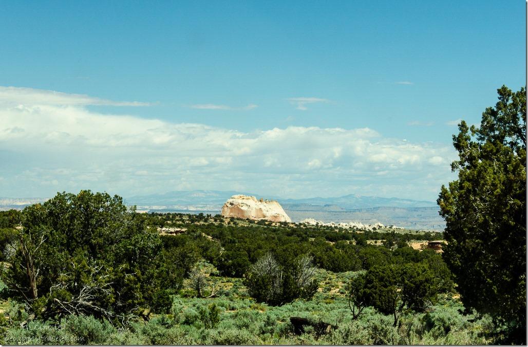 White Pocket in distance Vermilion Cliffs National Monument Arizona