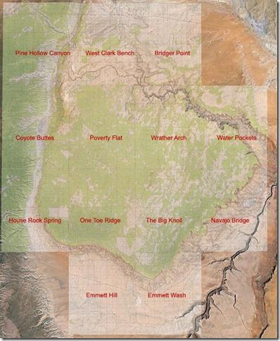 Sand Hills Topo Maps