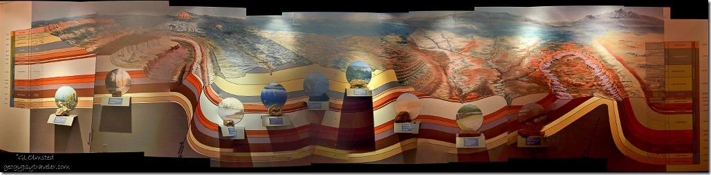 Colorado Plateau stratification Grand Staircase-Escalante National Monument Visitor Center Kanab Utah