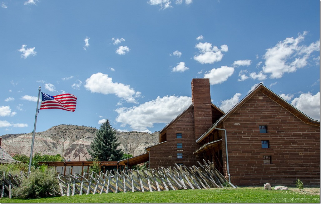 Grand Staircase-Escalante National Monument visitor center Cannonville Utah
